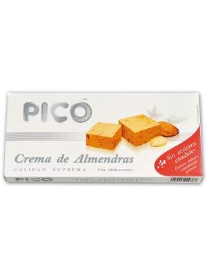 Pack 4 turrones sin azucares añadidos marca Picó. Turrón blando, duro, crema catalana y chocolate al whisky.