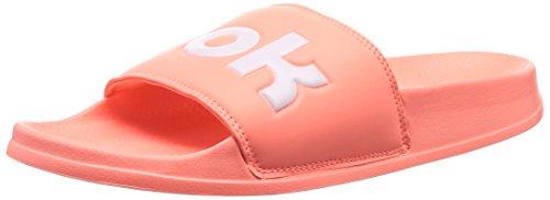 Reebok Unisex-Kinder Classic Slide Dusch- & Badeschuhe, Mehrfarbig (Splt/Digital Pink/White 000), 37.5 EU