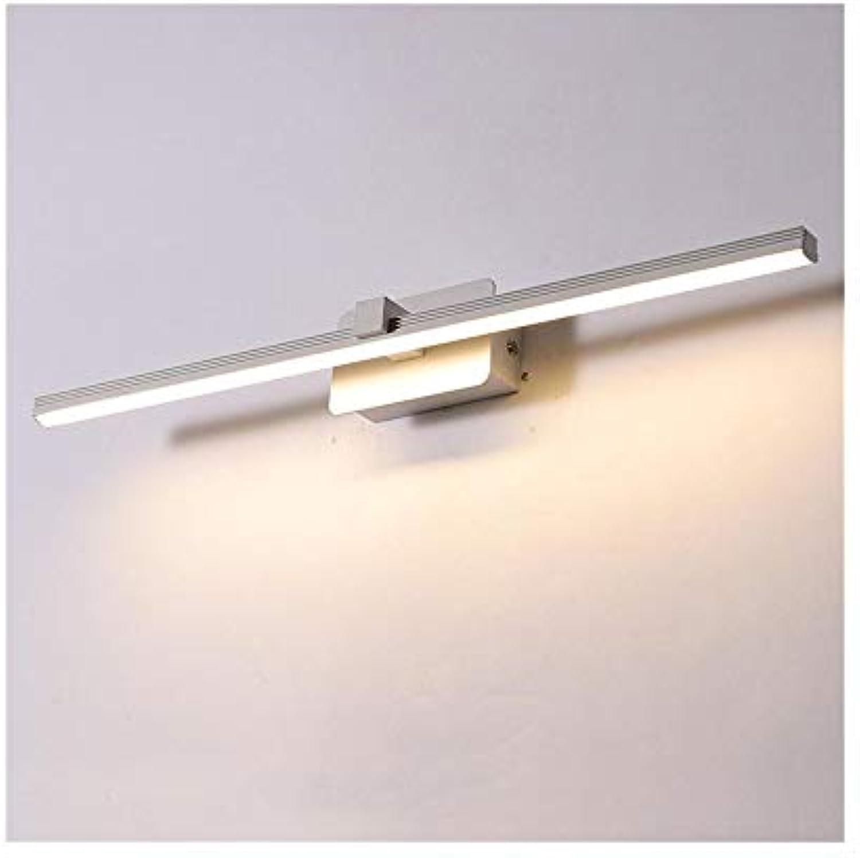 FUBON Wall lamp Spiegel Frontleuchte Led Wasserdicht Anti-fog Bad Bad Wandleuchte Spiegel Schrank Licht Schlafzimmer Kosmetikspiegel Lampe (Farbe   Weiß-Warm light-40CM)