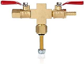 Best Value Vacs Vacuum Chamber Value Manifold- Cross w/Hose Barb