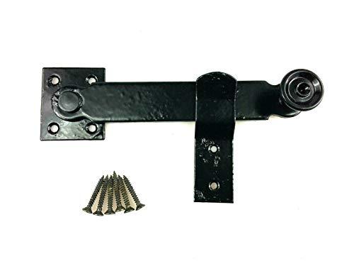 Fallriegel Riegel für Stalltüren Überwurf Riegel Fenster Tor Verschluss Tür Gartentor