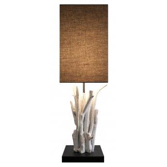 Lampe bois flotté PUR-VERTIGO