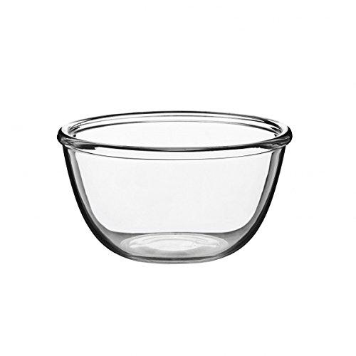 Luminarc ARC 41879 Cocoon Schale, Salatschale, Schüssel, 18cm, 1.2 Liter, Glas, transparent, 1 Stück