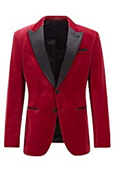 Slim fit Peak lapels Kissing buttons on the cuff Fastening top: Button closure Number of buttons: 1