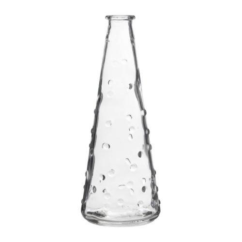 ★スネッティグ / SNARTIG 花瓶 / クリアガラス[イケア]IKEA(20136309)