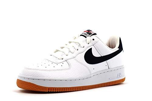 Nike Air Force 1 07 2, Scarpe da Basket Uomo, Multicolore (WhiteObsidianUniversity Red 100), 40.5 EU