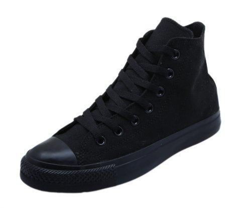 Converse Chuck Taylor All Star Season Hi, Zapatillas Unisex infantil, Negro (Black Monochrome 006), 37.5 EU