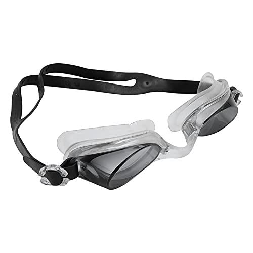 KUIDAMOS Gafas de natación Ajustables, Gafas de Piscina Suaves y cómodas Que brindan la máxima Comodidad para diversas Formas de Rostro