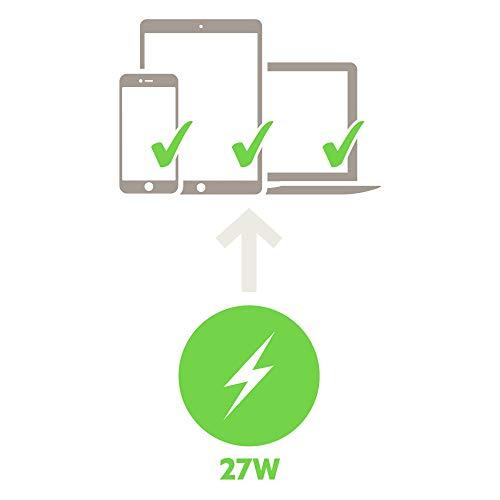Belkin Boost Charge 27-W-USB-C-Netzladegerät (USB-C-Schnellladegerät für iPhone, unterstützt Schnellladen für iPhone 12,12 Pro/Pro Max/Mini, 11, 11 Pro/Pro Max, XS, XS Max, XR, X, 8/8 Plus)