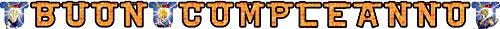 comogiochi guirnalda feliz Cumpleaños Dragon Ball Z, Multicolor, 5cg82014
