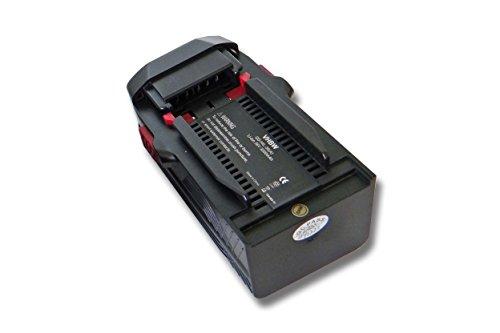 vhbw Batería compatible con Hilti TE6A, TE 6A, TE7A herramientas (3000mAh Li-Ion 36V) -Reemplaza Hilti B36, B36V