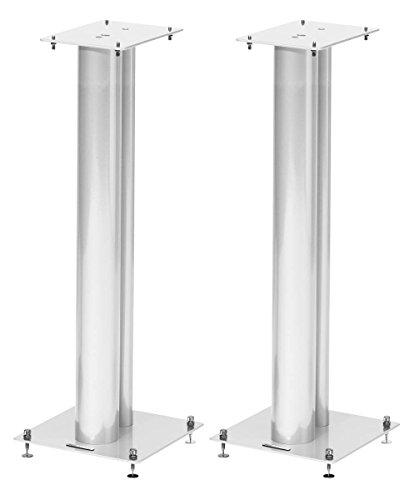 Norstone Stylum 3 Lautsprecher-Halterung Floor Steel White - Lautsprecher-Halterungen (Floor, 50 kg, Steel, White, Floor, 800 mm)