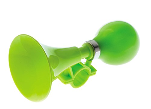 Bocina Trompeta de Presion para Niño Niña Color Verde Manillar de Bicicleta 3998verde