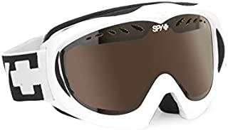 Spy Optic Targa Mini Snow Goggles - White - Bronze Lens