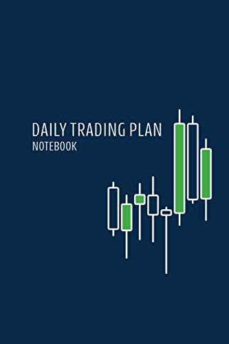 Daily Trading Plan Notebook: Blue Currency Trading Journal