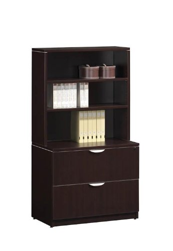 2 Drawer Lateral File with Hutch KWA151