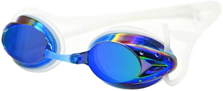 Men & Women Swimming AntiFog Glasses Spectacles Swimming Goggles Professional Glasses Arena Swimming colorful Racing Game