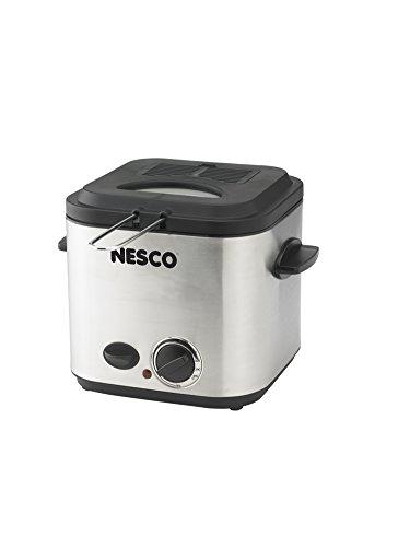 Nesco Deep fryer, 1.2L, Stainless Steel
