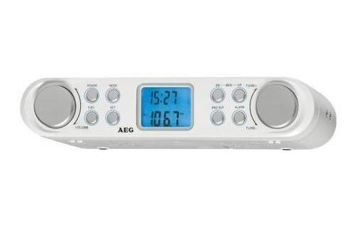 AEG KRC 4344 Küchenradio, PLL-UKW-Radio, Eco-Save-Stromsparfunktion, Unterbaufähig