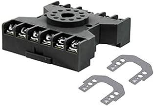 Relay Socket 11 Pos Din Rail, (Pack of 5) (SR3P-06)