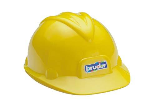 Bruder Toys Construction Worker Hard Hat Yellow Helmet