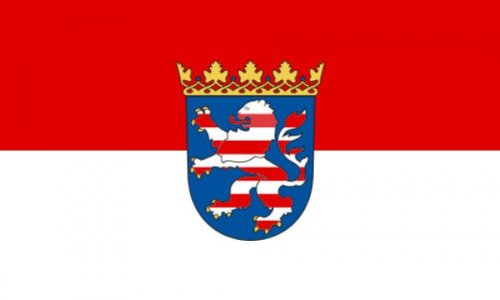 AZ FLAG Flagge Hessen 150x90cm - Hessen Fahne 90 x 150 cm - flaggen Top Qualität