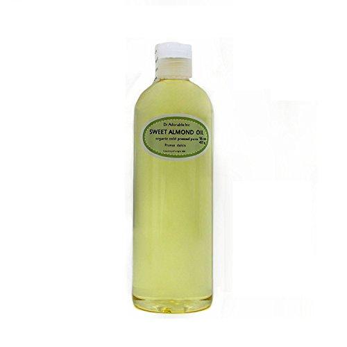 Sweet Almond Oil 100% Organic Skin Care 16 Oz/1 Pint