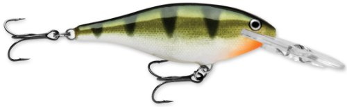 Rapala Shad Rap 09 Fishing lure, 3.5-Inch, Yellow Perch