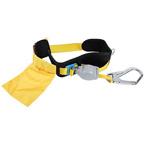 Cintura di sicurezza con clip, cintura in vita Imbracatura per il corpo Arrampicata Protezione anticaduta per alpinismo Antincendio Arrampicata su roc