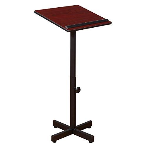 Oklahoma Sound 70-My tragbare Präsentationsrechner 50,8 cm Länge x 47,7 cm Breite x 122,5 cm Höhe, Mahagoni
