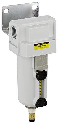 PneumaticPlus SAF4000M-N06BD-MEP Compressed Air Particulate Filter 3/4