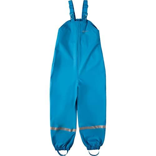 BMS Regenhose Buddelhose Matschhose für Jungen in Hellblau Größe 110