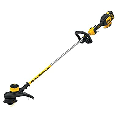DEWALT DCST920P1 20V MAX Lithium-Ion XR Brushless 13  String Trimmer (5.0AH)