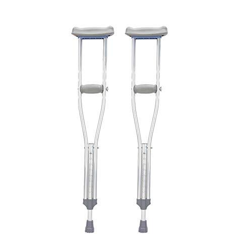 Underarm crutches Aluminiumkrücken Achselkrücken Abduktionsrutschfraktur höhenverstellbar für Menschen mit Behinderungen ältere Menschen ältere Krücke