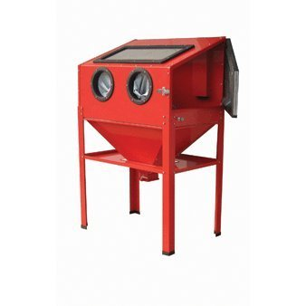 Central Pneumatic 40 Lb. Capacity Floor Blast Cabinet by Central Pneumatic
