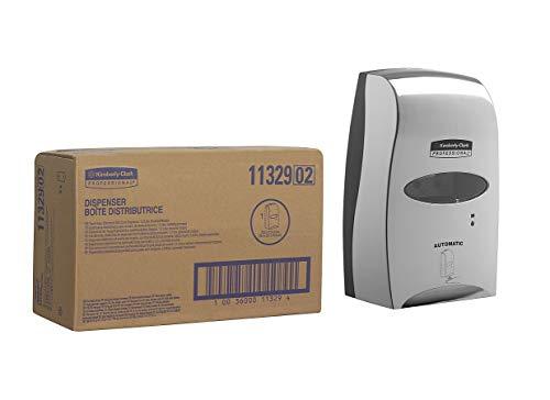 Kimberly-Clark 11329 Dispensador Electrónico sin Contacto de Cuidado de la Piel, 1.2L, Metal Pulido