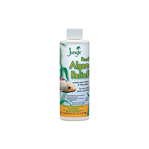 Jungle PL720-8W Pond Algae Relief, 8-Ounce, 237-ml