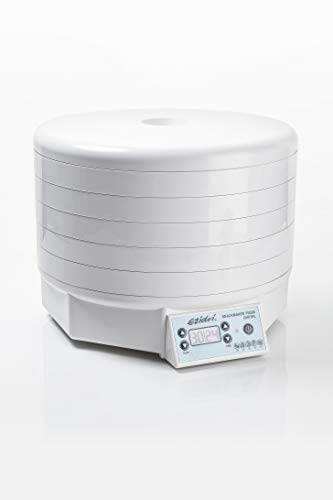 EZIDRI Snackmaker FD500 Digital - Dörrautomat mit großer Kapazität (5 Siebe erweiterbar auf 15), gleichmäßige Trocknung, wählbare Temperatur (30-60°C), ideal für RAW-Gerichte