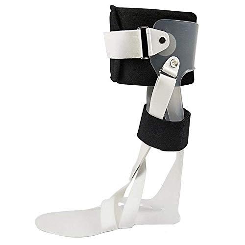XHNXHN Órtesis de pie Tobilleras, Compresión de Tobillo Caída de Tobillo Soporte de pie Férula, Pie Derecho, L