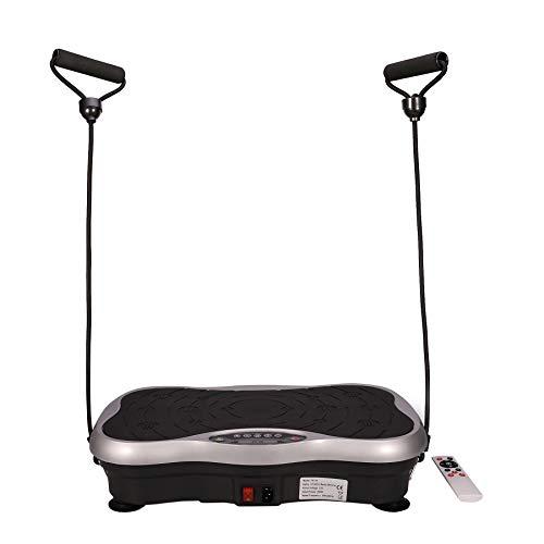 Y-NOT Vibrationsplatte Vibrationstrainer Trainingsgerät Ganzkörper Fitness Rüttelplatte Sport Trainings Bänder