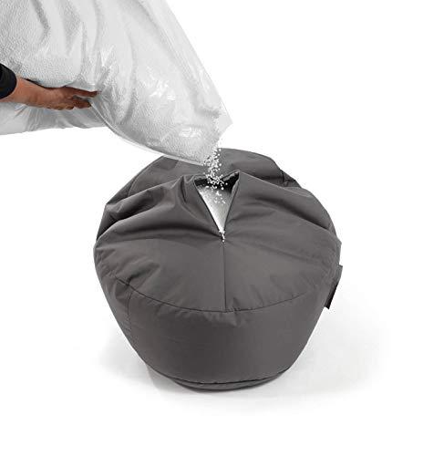 mokebo® Sitzsack-Füllung 'Der Nachfüller', EPS-Perlen Nachfüllpack & Sitzsack Füllmaterial aus Deutscher Herstellung | Füllmenge 200 Liter