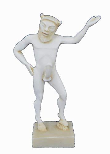 Satyr Skulptur Miniatur Aged Statue Antike Griechische Mythic Creature