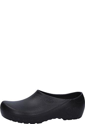 Jolly Fashion by Alsa .der Schwarze PU Schuh mit auswechselbarem Korkfußbett, 41