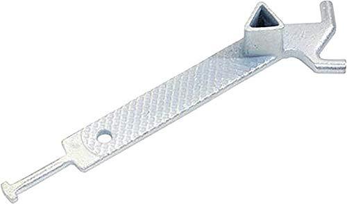 WerkzeugHERO Universalschlüssel Temperguss DIN 3223