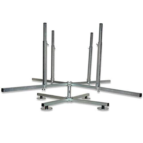 SANPRO 4-Arm Rohrhaspel/Abrollhaspel für PE-X und Verbundrohr