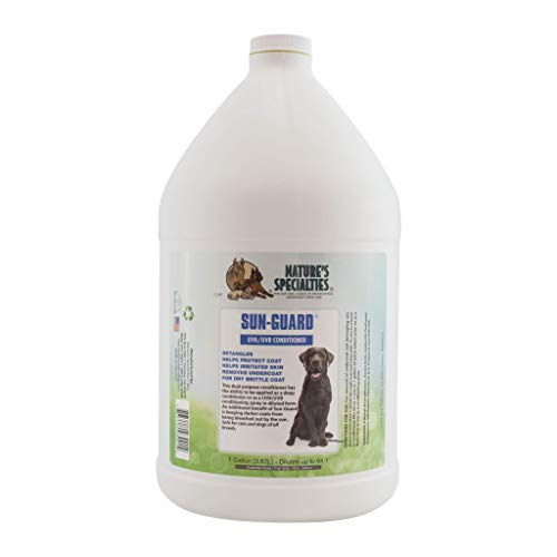 Nature's Specialties Sun Protecting Dog Conditioner for Pets, Concentrate 64:1, Made in USA, Sun-Guard, 1gal