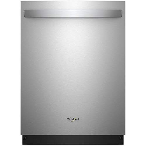 Whirlpool WDT970SAHZ 47dB Stainless Built-in Dishwasher with Third Level Rack