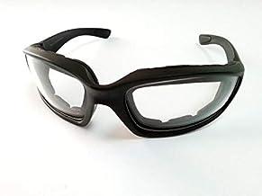 نظارات واقية من الإسفنج المبطن لركوب الدراجة النارية من SMA عدسات شفافة