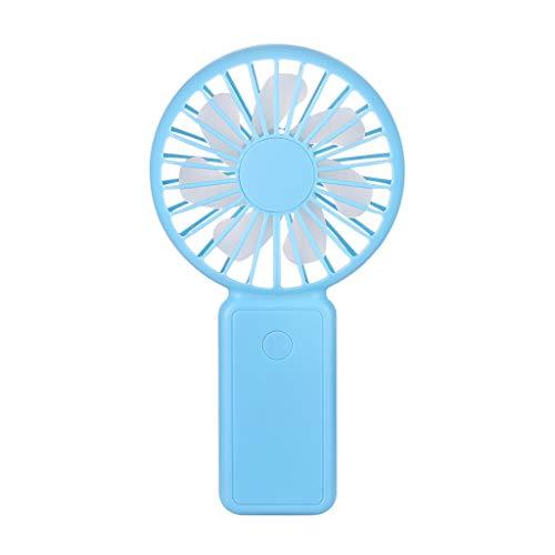 YWLINK Tragbar Handheld Ventilator Wiederaufladbar USB Mini Electric Fan Outdoor Reisen Schule BüRo LüFter 800mAh