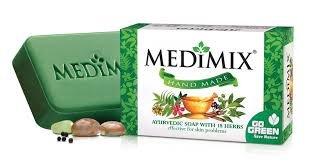 Medimix Hand Made Ayurvedic Soap With 18 Herbs 125g